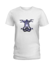 Yoga Mandala Ladies T-Shirt thumbnail