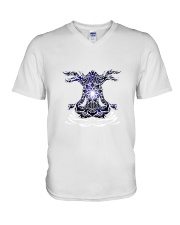 Yoga Mandala V-Neck T-Shirt thumbnail