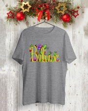 BELIEVE Classic T-Shirt lifestyle-holiday-crewneck-front-2
