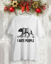 I Hate People Classic T-Shirt lifestyle-holiday-crewneck-front-2