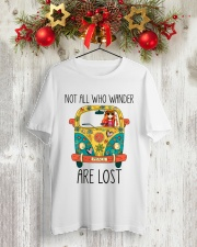 Not All Who Wander Are Lost Classic T-Shirt lifestyle-holiday-crewneck-front-2