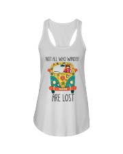 Not All Who Wander Are Lost Ladies Flowy Tank thumbnail