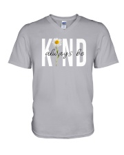 ALWAYS BE KIND V-Neck T-Shirt tile