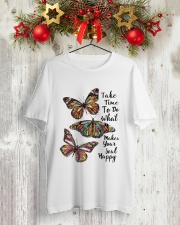 BUTTERFLY Classic T-Shirt lifestyle-holiday-crewneck-front-2