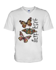 BUTTERFLY V-Neck T-Shirt thumbnail