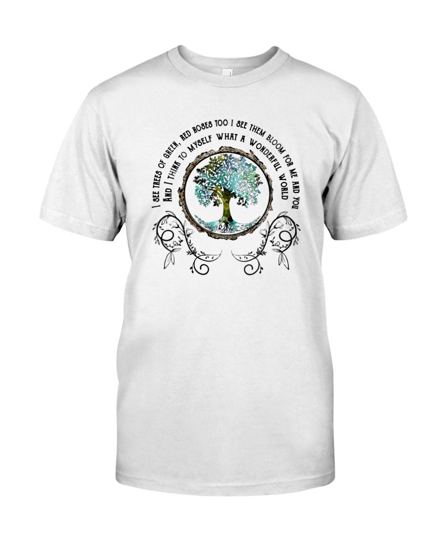 What a wonderful world 1 Classic T-Shirt