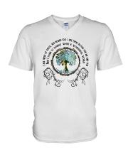 What a wonderful world 1 V-Neck T-Shirt thumbnail