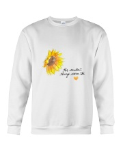 THE SMALLEST THINGS WARM THE HEART Crewneck Sweatshirt thumbnail