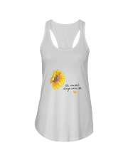 THE SMALLEST THINGS WARM THE HEART Ladies Flowy Tank thumbnail