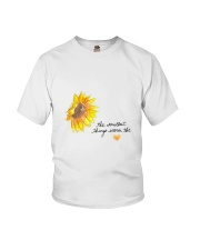 THE SMALLEST THINGS WARM THE HEART Youth T-Shirt thumbnail