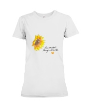 THE SMALLEST THINGS WARM THE HEART Premium Fit Ladies Tee thumbnail
