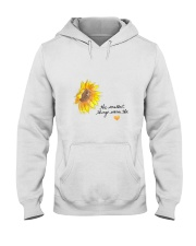 THE SMALLEST THINGS WARM THE HEART Hooded Sweatshirt thumbnail