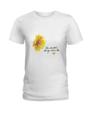 THE SMALLEST THINGS WARM THE HEART Ladies T-Shirt thumbnail