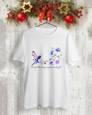EVERY LITTLE THING IS GONNA BE ALRIGHT Classic T-Shirt lifestyle-holiday-crewneck-front-2