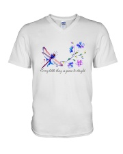 EVERY LITTLE THING IS GONNA BE ALRIGHT V-Neck T-Shirt thumbnail