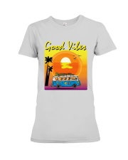 GOOD VIBES Premium Fit Ladies Tee thumbnail