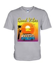 GOOD VIBES V-Neck T-Shirt thumbnail