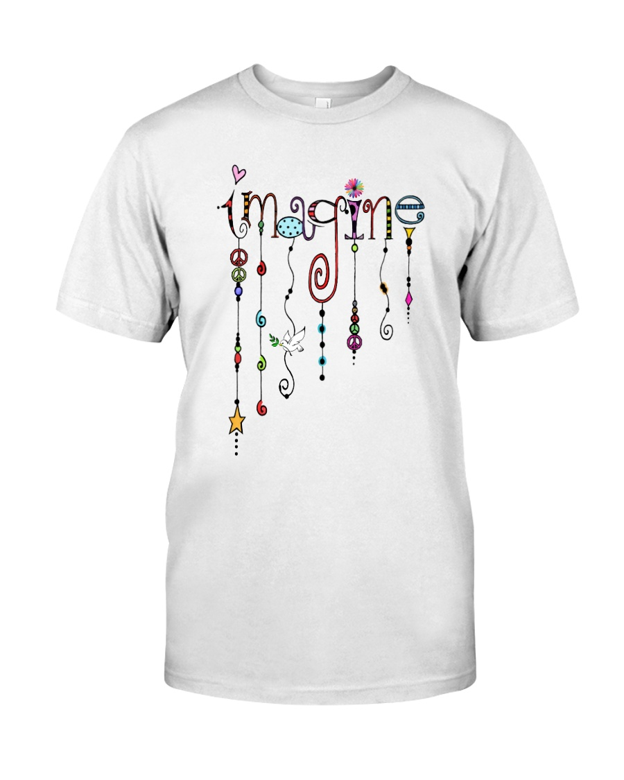 HP-D-26021911- Imagine Painting  Classic T-Shirt