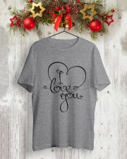 LOVE YOU Classic T-Shirt lifestyle-holiday-crewneck-front-2