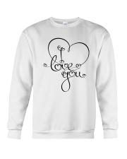 LOVE YOU Crewneck Sweatshirt thumbnail