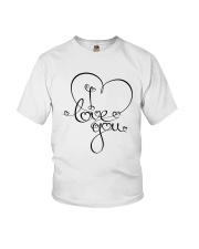LOVE YOU Youth T-Shirt thumbnail