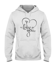 LOVE YOU Hooded Sweatshirt thumbnail