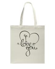 LOVE YOU Tote Bag thumbnail