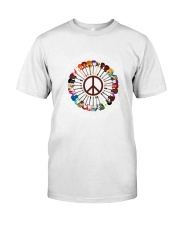 PEACE ROCK Classic T-Shirt tile