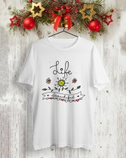 LIFE IS BEAUTIFUL Classic T-Shirt lifestyle-holiday-crewneck-front-2