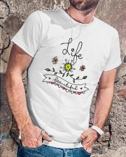 LIFE IS BEAUTIFUL Classic T-Shirt lifestyle-mens-crewneck-front-4