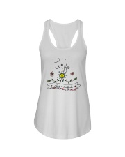 LIFE IS BEAUTIFUL Ladies Flowy Tank thumbnail
