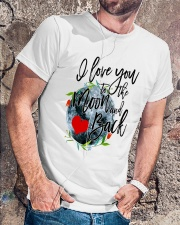 I LOVE YOU TO THE MOON AND BACK Classic T-Shirt lifestyle-mens-crewneck-front-4