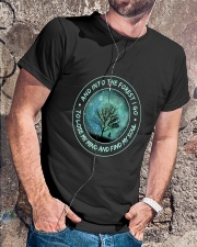 Into The Forest I Go Classic T-Shirt lifestyle-mens-crewneck-front-4
