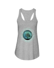 Into The Forest I Go Ladies Flowy Tank thumbnail