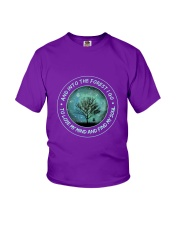 Into The Forest I Go Youth T-Shirt thumbnail