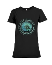 Into The Forest I Go Premium Fit Ladies Tee thumbnail