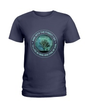 Into The Forest I Go Ladies T-Shirt thumbnail