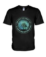 Into The Forest I Go V-Neck T-Shirt thumbnail