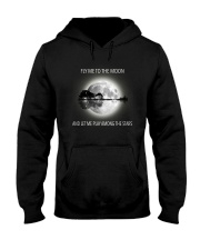 Fly Me To The Moon Hooded Sweatshirt thumbnail
