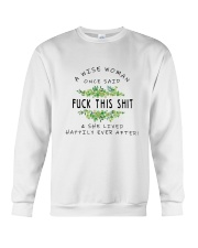 She Lived Happily Ever After Crewneck Sweatshirt thumbnail