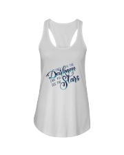 ONLY IN THE DARKNESS CAN YOU SEE THE STARS Ladies Flowy Tank thumbnail