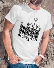 LOVE YOU Classic T-Shirt lifestyle-mens-crewneck-front-4