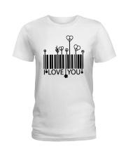 LOVE YOU Ladies T-Shirt thumbnail