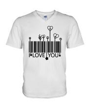 LOVE YOU V-Neck T-Shirt thumbnail