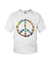 HIPPIE CAR Youth T-Shirt tile