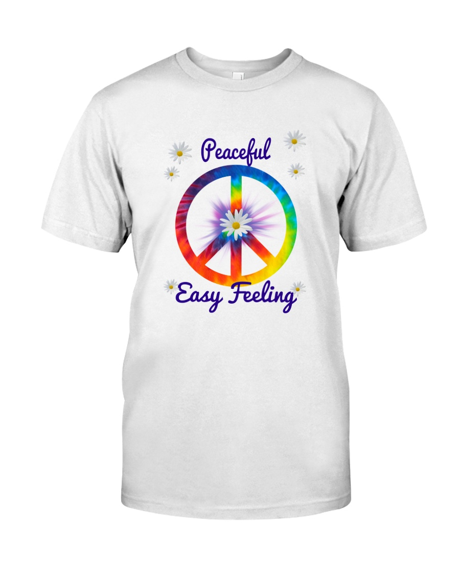 Peace Love Music Premium Fit Mens Tee
