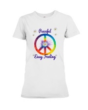 Peace Love Music Premium Fit Ladies Tee tile