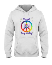 Peace Love Music Hooded Sweatshirt thumbnail