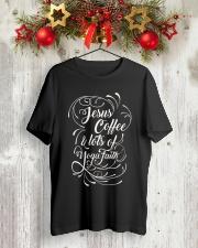 YOGA 10 Classic T-Shirt lifestyle-holiday-crewneck-front-2