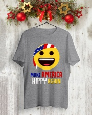 MAKE AMERICA HIPPY AGAIN Classic T-Shirt lifestyle-holiday-crewneck-front-2